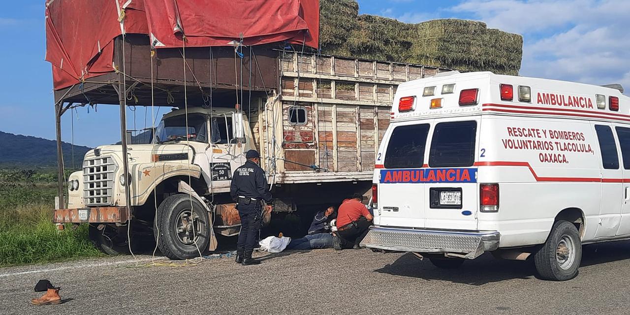 Embestida mortal en Carretera 190 | El Imparcial de Oaxaca