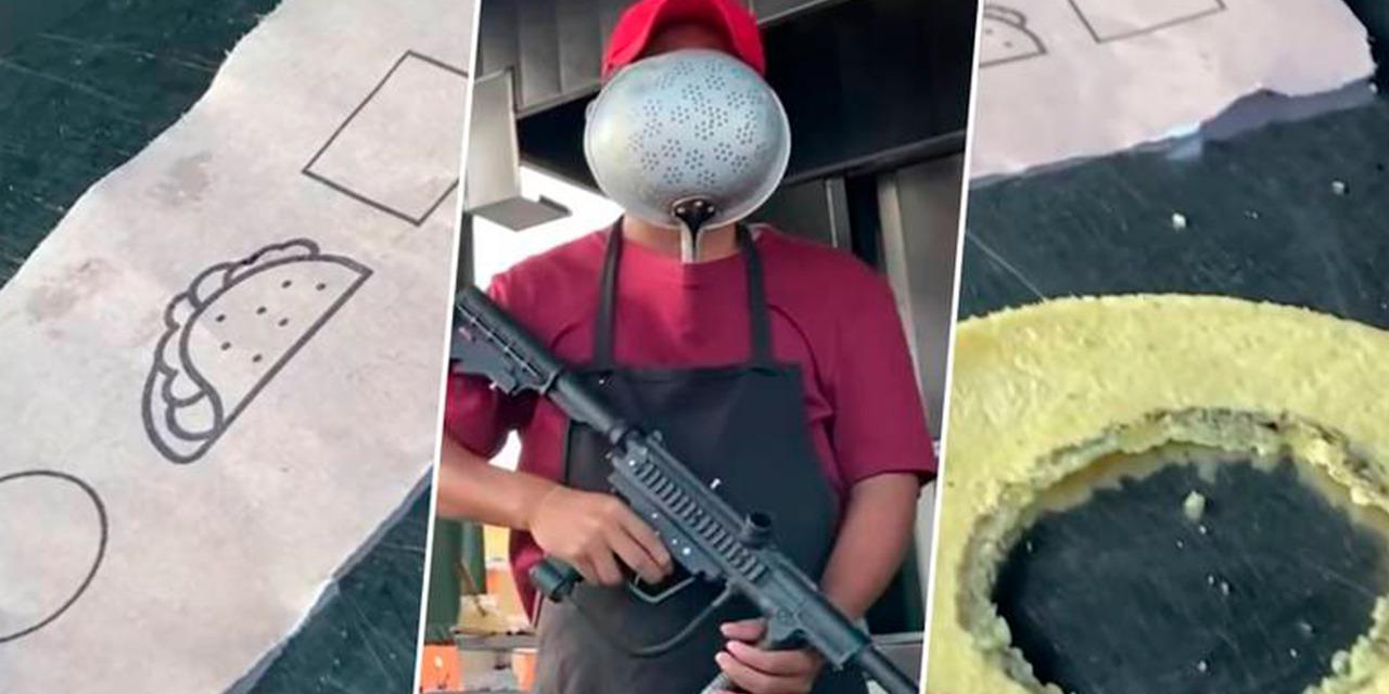 Taquería de Veracruz hace su versión de 'El Juego del Calamar'   El Imparcial de Oaxaca