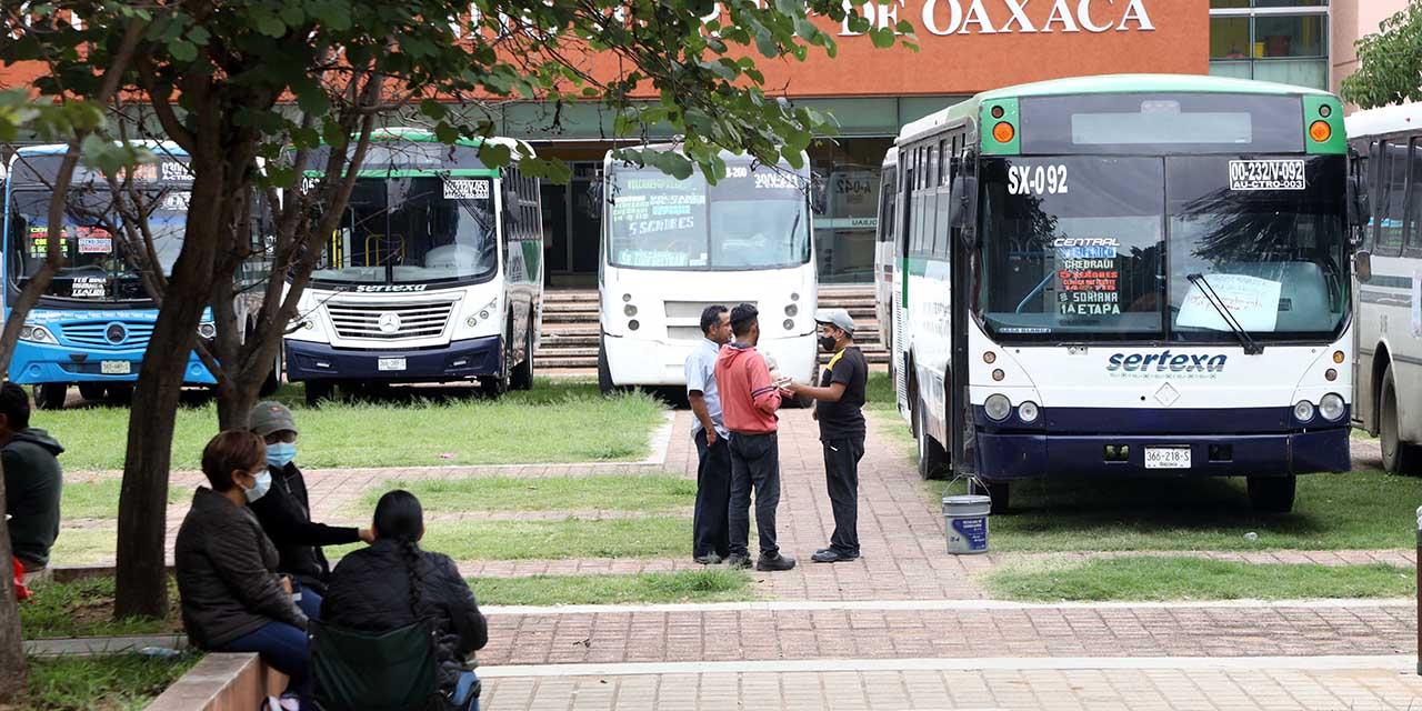 Mantiene SECUABJO toma de CU y camiones urbanos | El Imparcial de Oaxaca